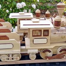 Train - Woodworking Project by Dutchy