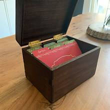 Dovetail Recipe Box - Woodworking Project by JimmyWoodworks