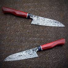 Damascus Knife - Metalworking Project by Tobi Bockholt