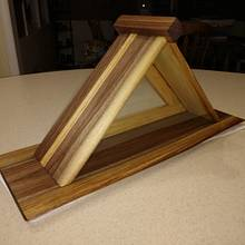 Walnut Flag Display Case - Woodworking Project by Galvipa