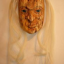 Elder Woman - Woodworking Project by Carver