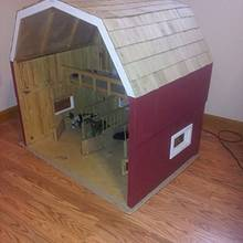 Toy barn - Woodworking Project by twigg
