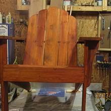 adirondack chairs - Woodworking Project by Indianajoe