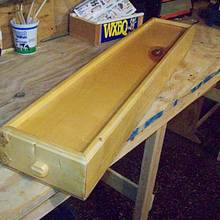 dulcimer in its own case - Woodworking Project by jim webster