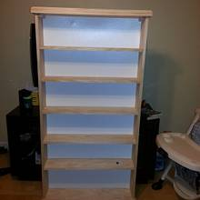 Rush job - DVD shelving - Woodworking Project by David E.