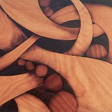 Abstract marquetry - Woodworking Project by Andulino