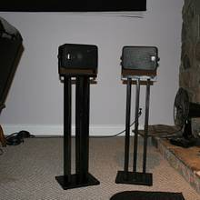 Speaker Stands - Woodworking Project by Railway Junk Creations