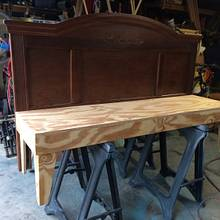 Headboard Bench - Woodworking Project by TonyCan