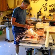 Table Saw for Steel ...... or How to Make Hot Pants - Woodworking Project by shipwright