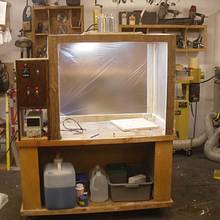 Copper Plated Station & Projects - Woodworking Project by Kelly