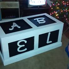 Toy box for grandson - Woodworking Project by Roy