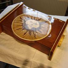 Wooden case with marquetry - Woodworking Project by Uwe Salzmann