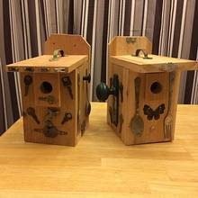 Bird Houses with Embellishments - Woodworking Project by Whittler1950