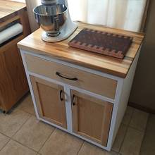 Kitchen Cabinet w/ Custom Spice Drawer - Woodworking Project by Nick Endle