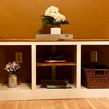 TV Stand - Woodworking Project by TCW