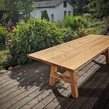 Garden table - Woodworking Project by René Pittner