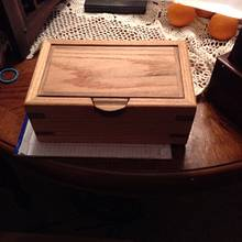 One small oak box - Woodworking Project by Jeff Moore