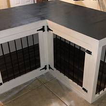 Corner Dog Kennel - Woodworking Project by TCW