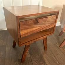 Walnut nightstands  - Woodworking Project by Mike Jones