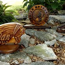 The Indian Collection - Woodworking Project by CarvedArtStudio511