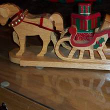 Sleigh 2009 - Woodworking Project by Wheaties  -  Bruce A Wheatcroft   ( BAW Woodworking)