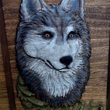 Wolf & Fox - Woodworking Project by CarvedArtStudio511