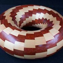 TWISTED TORUS - Woodworking Project by Sam Shakouri