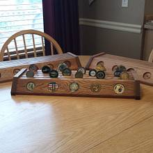 Some more challenge coin displays - Woodworking Project by Tim