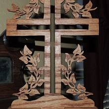 Cross in Scroll saw - Woodworking Project by Rolando Pupo