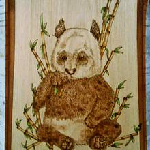 Panda with Bamboo - Woodworking Project by CharleeAnn