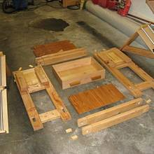 Adjustable tool stand for small shop - Woodworking Project by Richforever