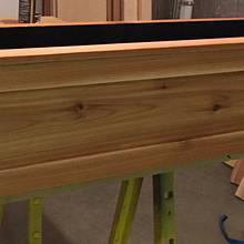 Cedar window flowerbox - Woodworking Project by Gabe