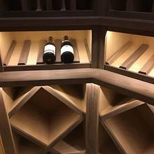 Wine room - Woodworking Project by WestCoast Arts