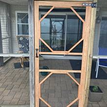 Wooden Screen Door - Design & Build Considerations - Woodworking Project by MJCD