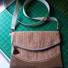 Cork Handbag - Needleworking Project by Celticscroller