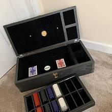 Poker Box - Woodworking Project by Paul Swift