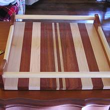 Serving tray - Woodworking Project by DR. Reno