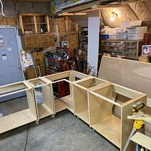 Kitchen cabinets and bathroom vanities - Woodworking Project by David A Sylvester