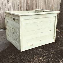 Large Planter Box  - Woodworking Project by 4thmanwoodworks