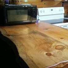 Kitchen peninsula & kitchen table - Woodworking Project by David A Sylvester