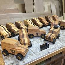 Christmas toys 2017 - Woodworking Project by Narinder Jugdev
