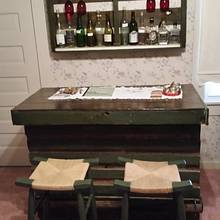 Moonshine Bar and Shelve - Woodworking Project by John Caddell