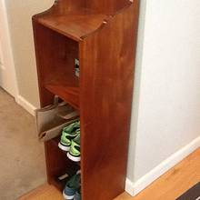 Shoe Rack - Woodworking Project by 3fingerpat
