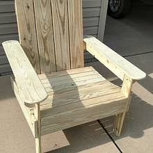 Outdoor chairs - Woodworking Project by Ed Schroeder