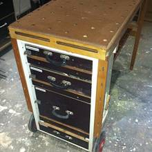 MFTC  Multi Function Tool Cart  or Mobile Workbench - Woodworking Project by Dutchy