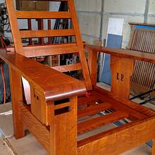 Morris Chair - Woodworking Project by kenmitzjr