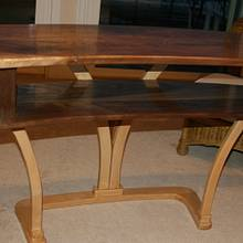 Contemporary Side Table - Woodworking Project by MJCD