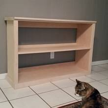 Record Shelf - Woodworking Project by David E.
