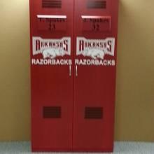 Razorback Sports Lockers - Woodworking Project by Chris Davis