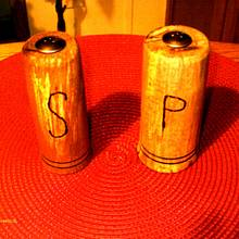 Salt and Pepper Shaker commision - Woodworking Project by Rustic1